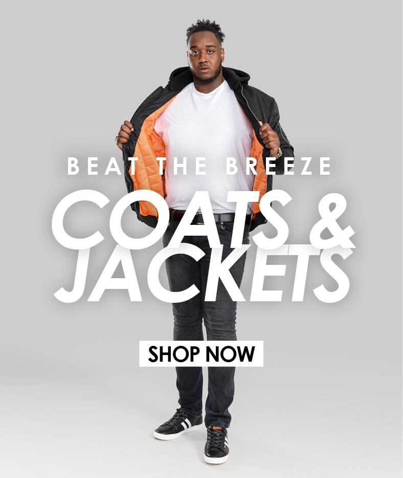 Shop Our Coats & Jackets