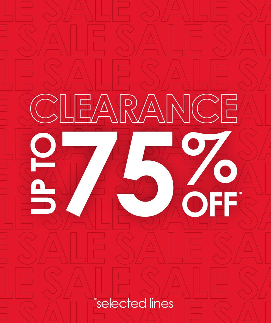 Shop our sale - massively reduced from our original prices